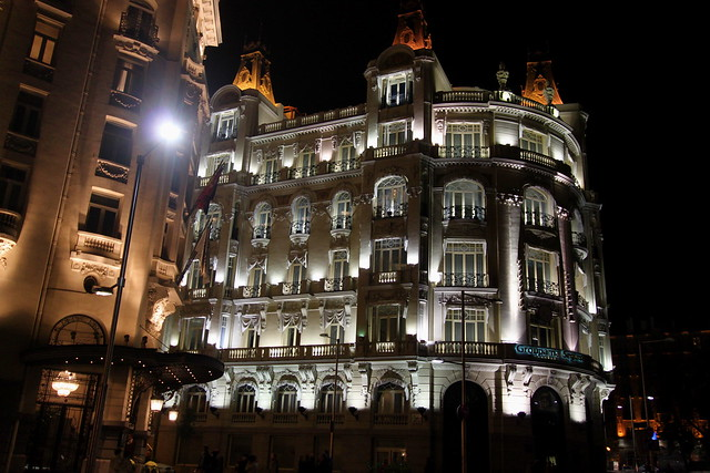 hotel on the calle del prado madrid flickr photo sharing