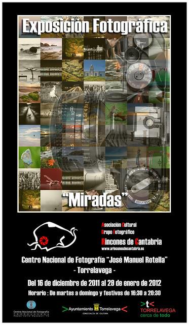 """Exposición """"Miradas"""" en el Centro Nacional de Fotografía de Torrelavega"""