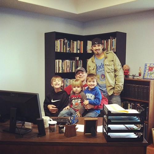 Grandpas office