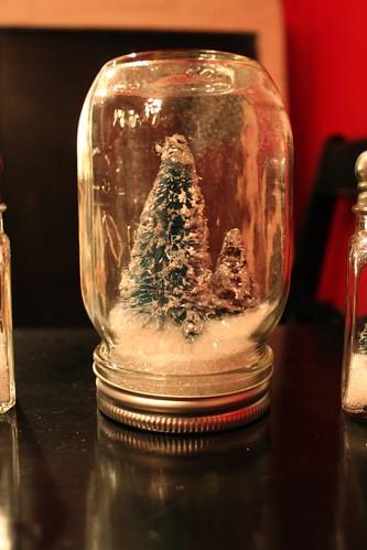 mason jar trees
