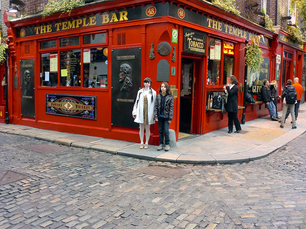 The Temple Bar - Dublin, Ireland.