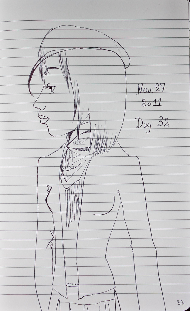 Day 32 | Nov. 27, 2011 | W/ a Jacket