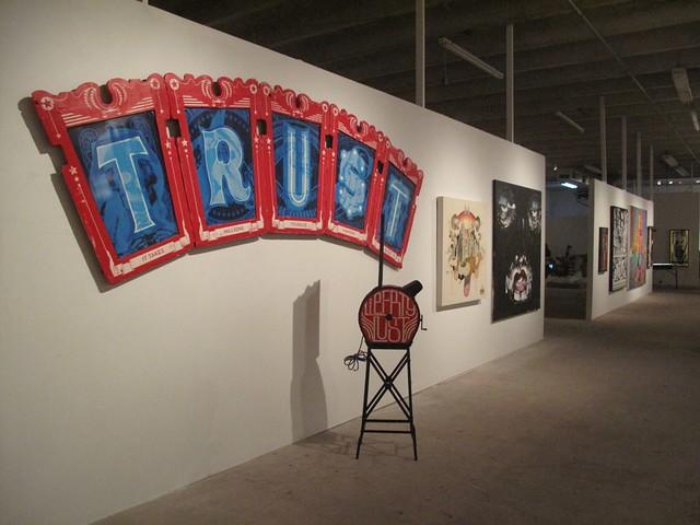Underbelly exhibition @  WYNWOOD WALLS - Art Basel Miami Beach