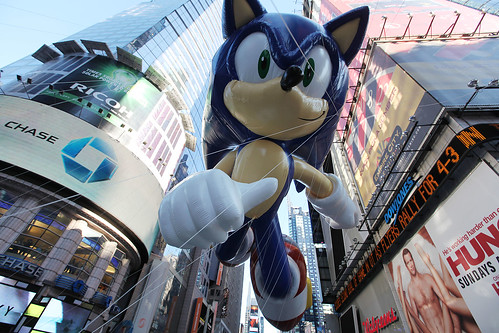 Modern Sonic Makes Debut at Macy's Thanksgiving Day Parade