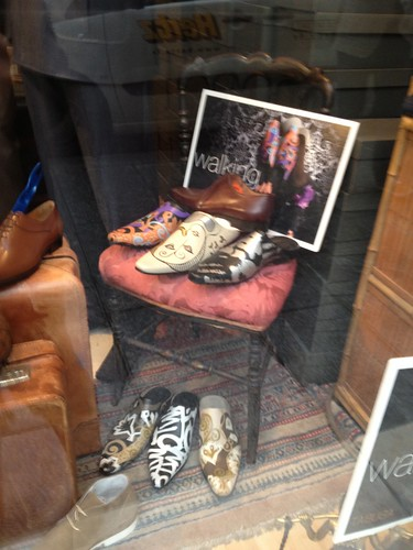 Picasso Shoes, Shop Window, Paris by sirexkat