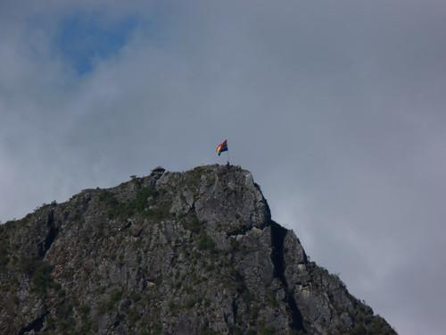 Le sommet de la montagne Machu Picchu