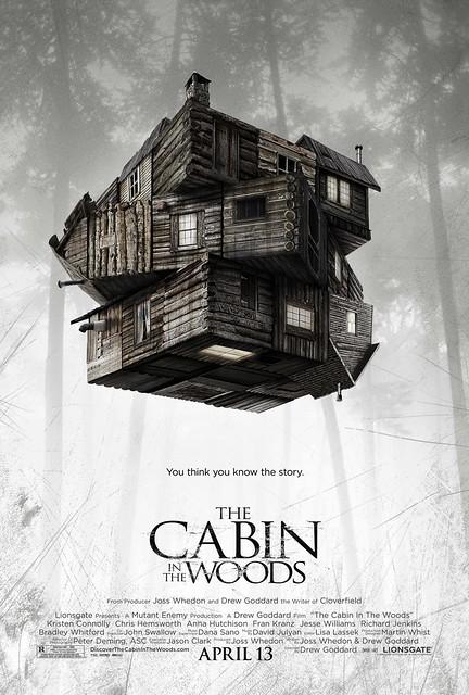 THE CABIN IN THE WOODS, Joss Whedon, Drew Goddard, Chris Hemsworth,Richard Jenkins ,Bradley Whitford