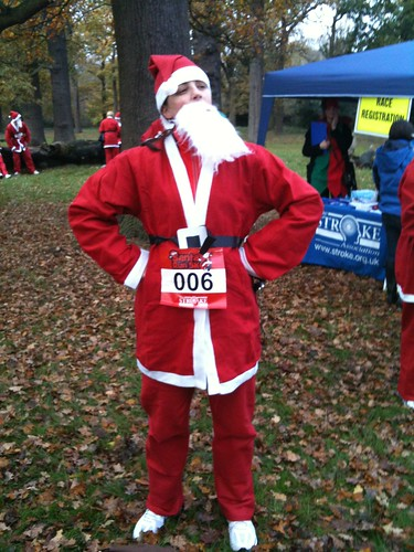 5k santa run for the stroke association