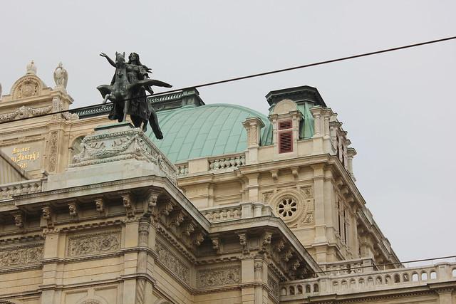Detalle de la ópera de Viena, Wiener staatsoper