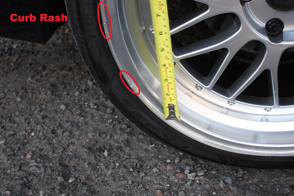right rear damage