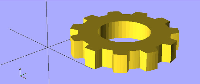 OpenSCAD Interlock Logo