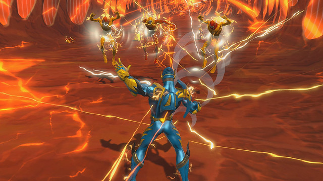 new dc universe online dlc lightning strikes today playstation blog