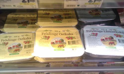 Frödinge Ostkaka - Cheesecake