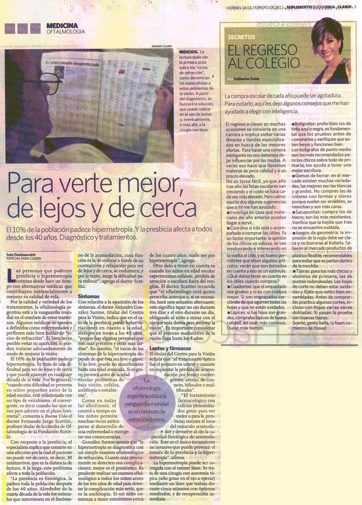 Diario Clar°n 18-2-11