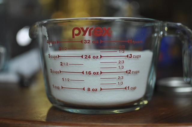 3 cups sugar