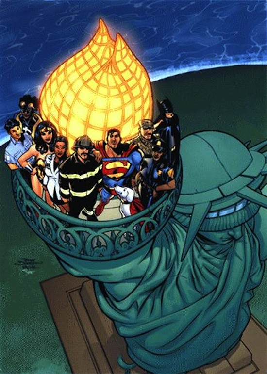 Cartões de Fim de Ano - Marvel e DC Comics