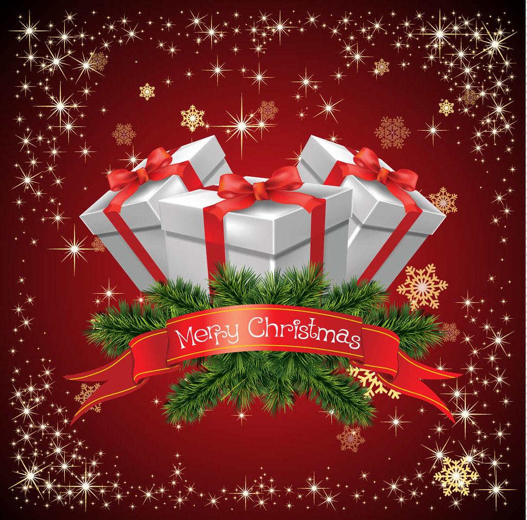 12 beautiful christmas background  merry designswan