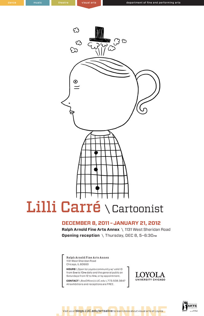Lilli Carre exhibit in Chicago