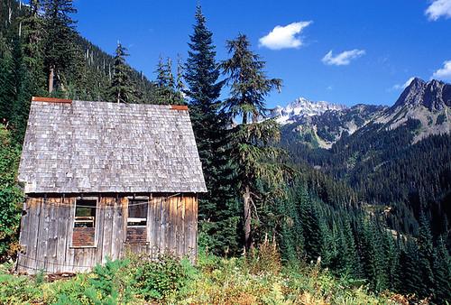 Abandoned Mining Cabin - Washington State