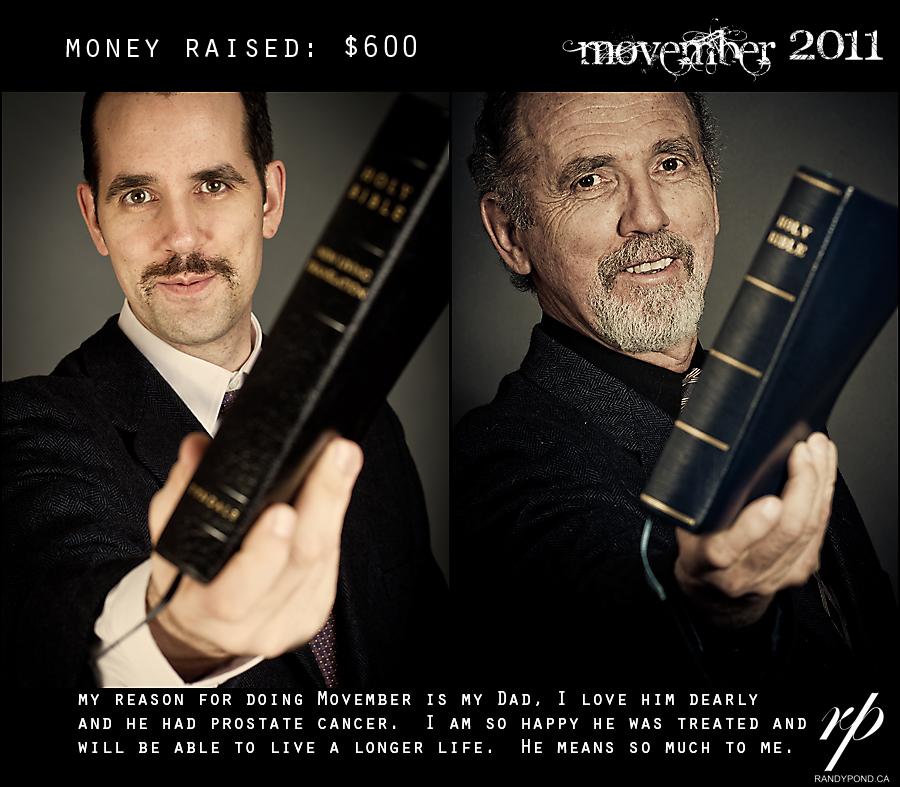 ~ Movember 2011 ~
