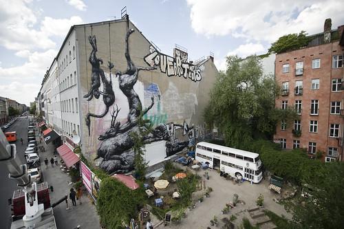 Berlin (Kreuzberg - Manteuffelstraße / Oranienstraße) July 2011