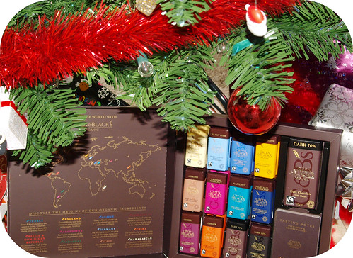 Green & Blacks Christmas Hampers