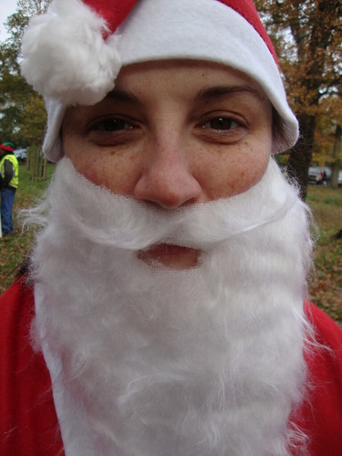 Santa Run Beard and Moustache