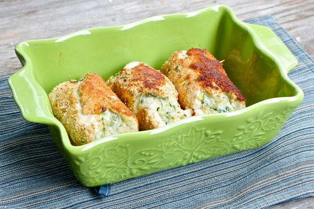 Chicken zucchini Roll Ups 2