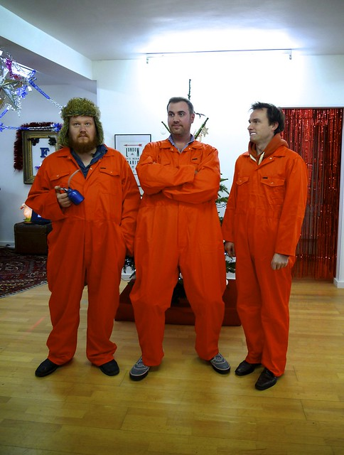 I did buy us some *special* outfits for the friday towers christmas party.