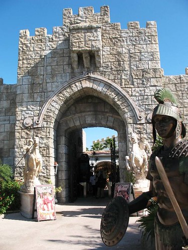 Entrance to Holy Land Experience in Orlando, Florida