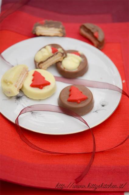 cioccolatini con biscotti