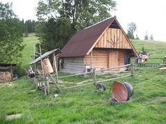 Polish shepherd's hut