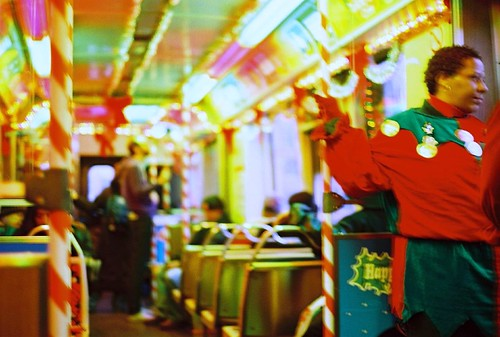 CTA's Holiday Train (by: thirdrail/Tony, creative commons license)