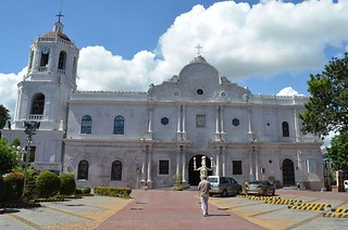 Cathedral in Cebu City in Philippines from outside