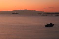Enoshima Island in twilight / 夕暮れの江ノ島