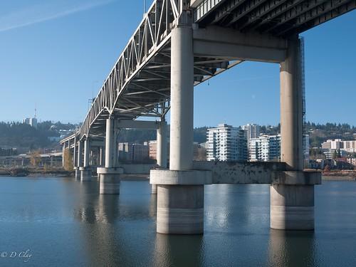 Portland's Marquam Bridge