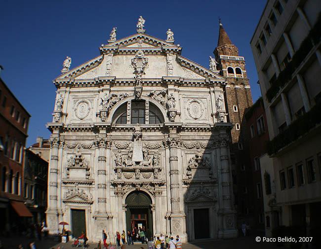 Iglesia de San Moisè. © Paco Bellido, 2007