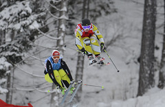 Kelsey Serwa wins double gold on the ski cross World Cup opening weekend in Innichen/San Candido, Italy.