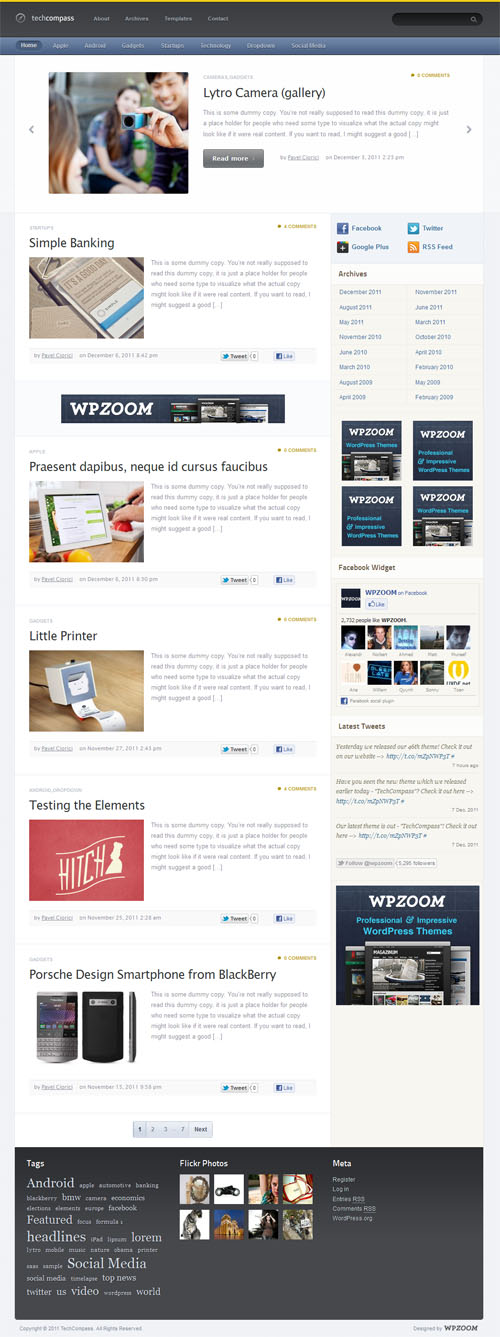tech-compass-wordpress-theme