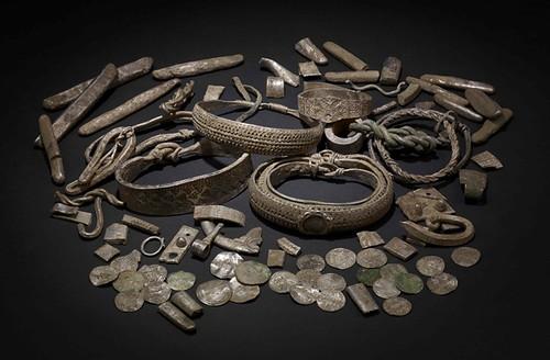 Viking hoard coins