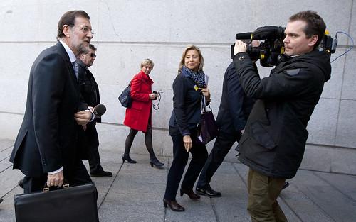 Mariano Rajoy pronuncia su discurso de investidura
