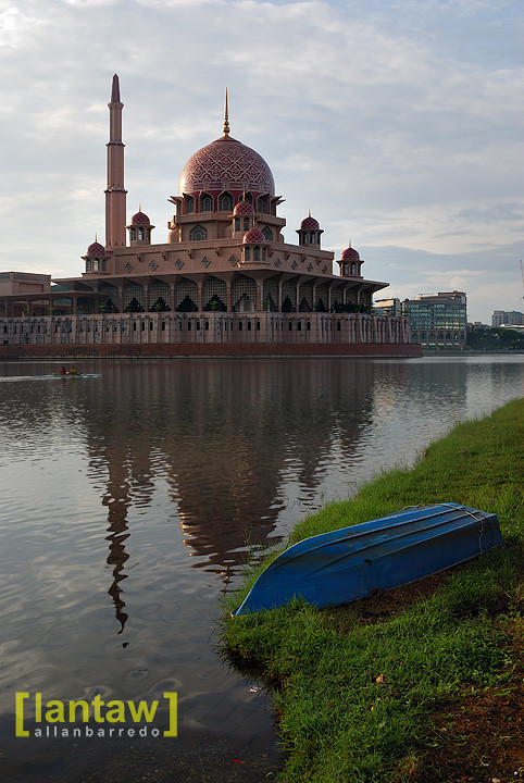Putra Mosque after Sunrise