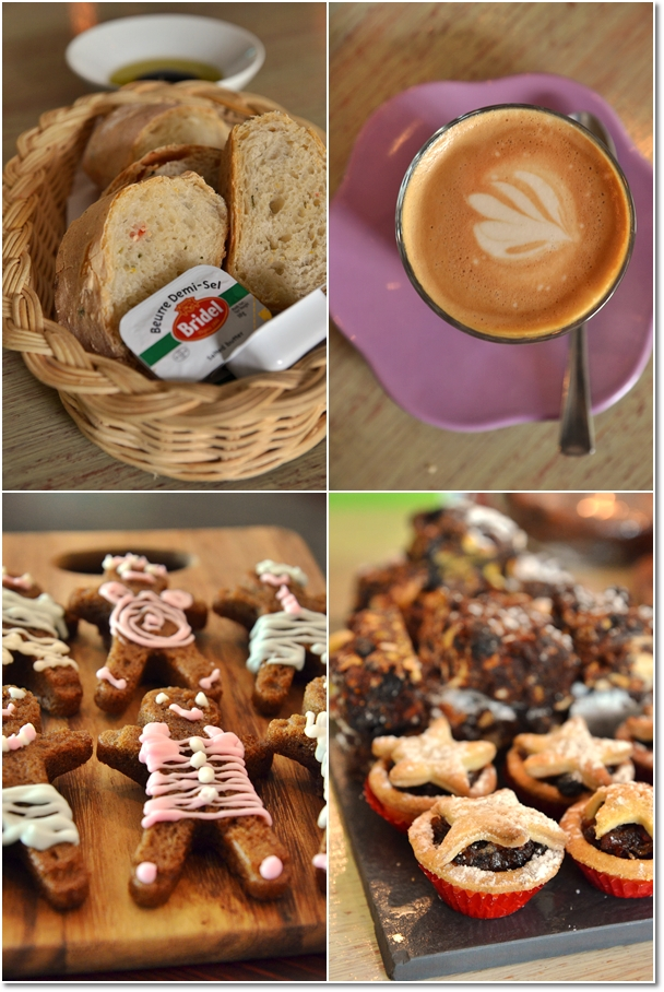 Latte, Gingerbread Man, Tartlets