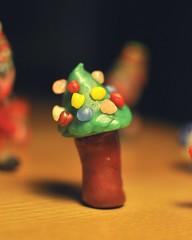 20111214-yoyo做的聖誕樹-1