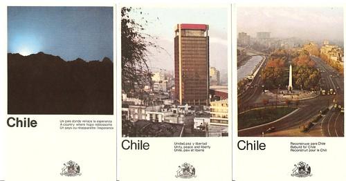 Chile - Esperanza, paz, libertad, reconstrucción