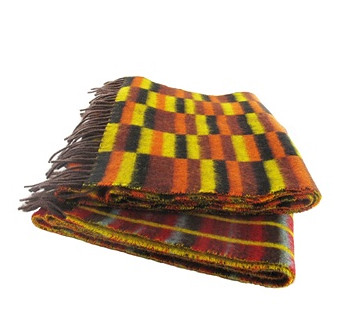 Routemaster Moquette Design Lambswool Scarves from London Transport Musuem