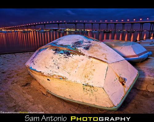 I am a Painter of Light! Coronado Bridge, San Diego by Sam Antonio Photography
