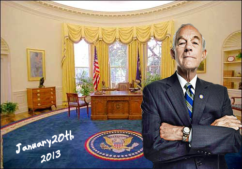 ron paul oval office
