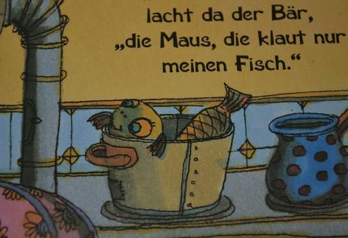 Erziehung in Kinderbüchern: Der Fisch der, sich noch im Kochtopf seines Lebens freut