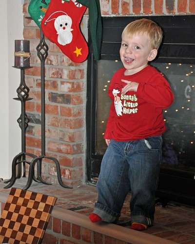 Christmas 1 - Dane on the hearth
